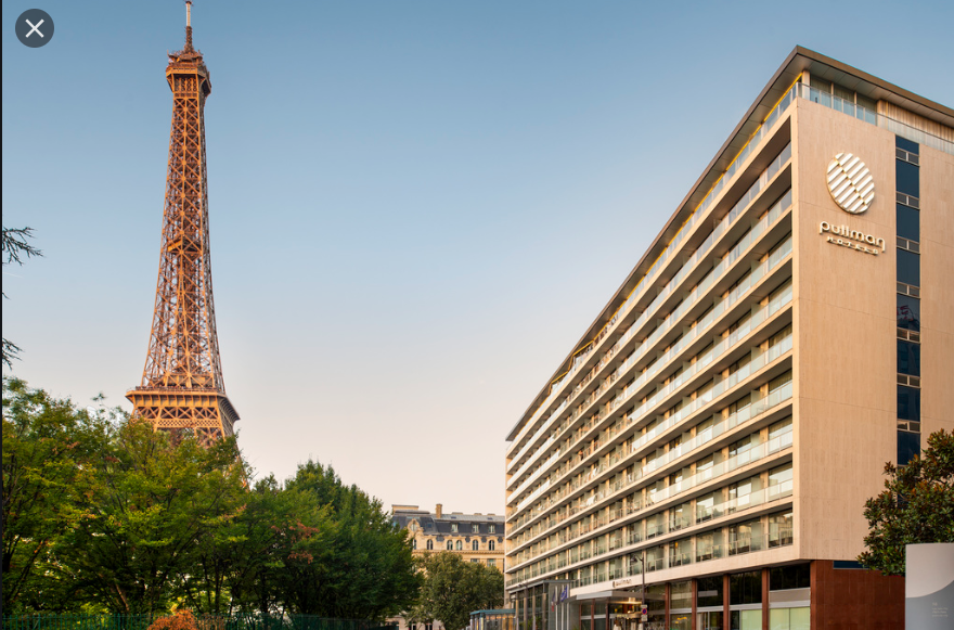 le Pullman Paris Tour Eiffel a ouvert sa terrasse depuis le 2 juin / photo accor