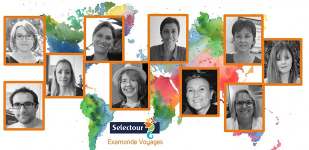 Les équipes d'Examonde Voyages - DR