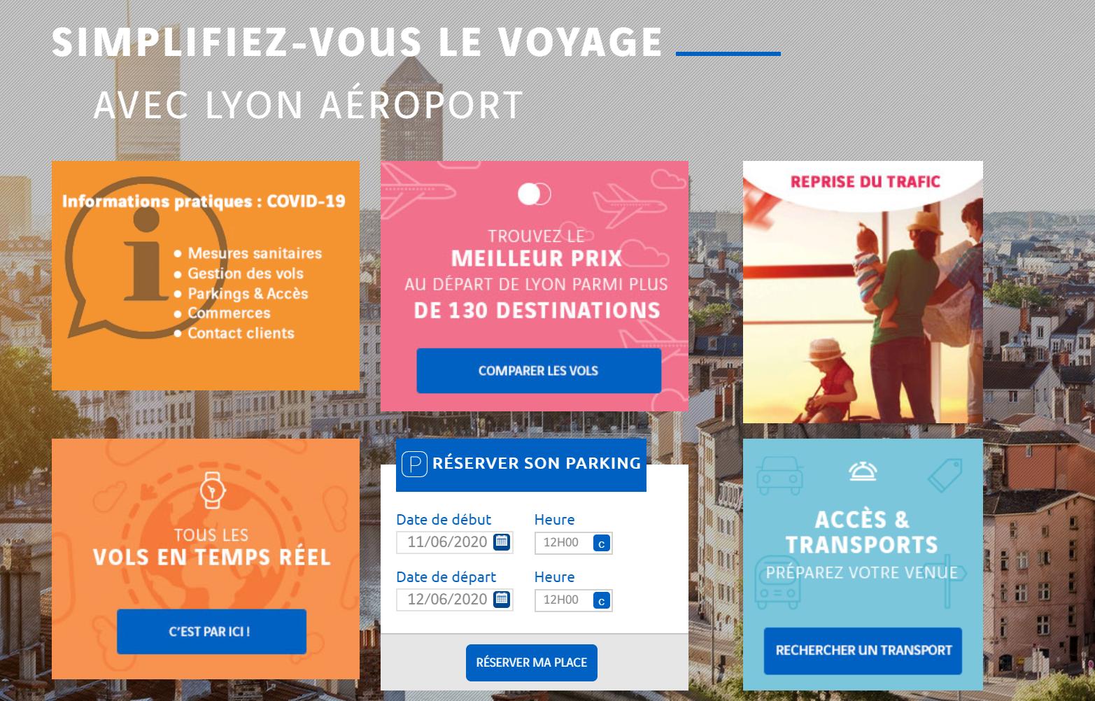 Réouverture de 27 destinations à l'aéroport de Lyon
