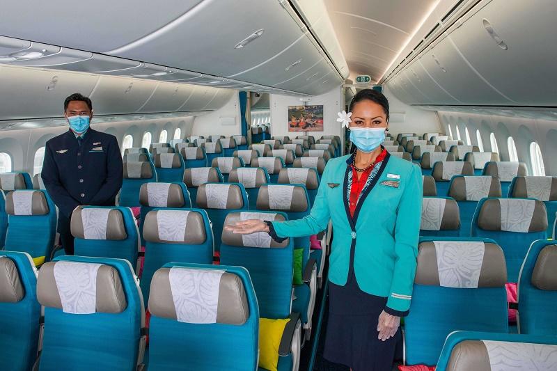 """Air Tahiti Nui propose des offres spéciales """"retrouvailles"""", baptisée """"Retour au Fenua"""" - Crédit photo : Air Tahiti Nui"""