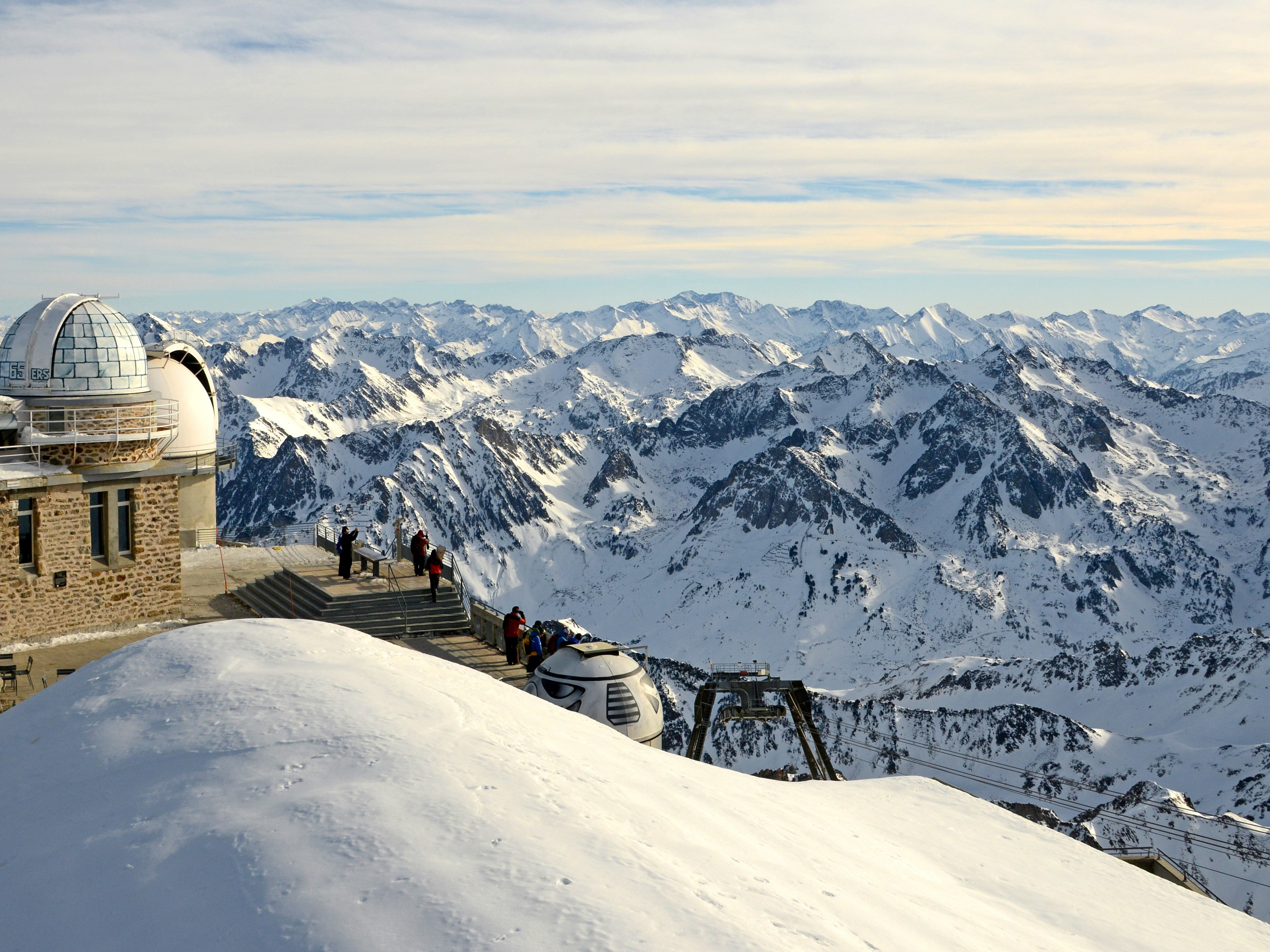 Le Pic du Midi, site d'observation scientifique des planètes de renommée mondiale. Patrice Thébault.CRT Occitanie.