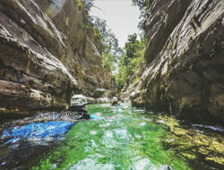 Canyoning  / DR HPTE_My destination