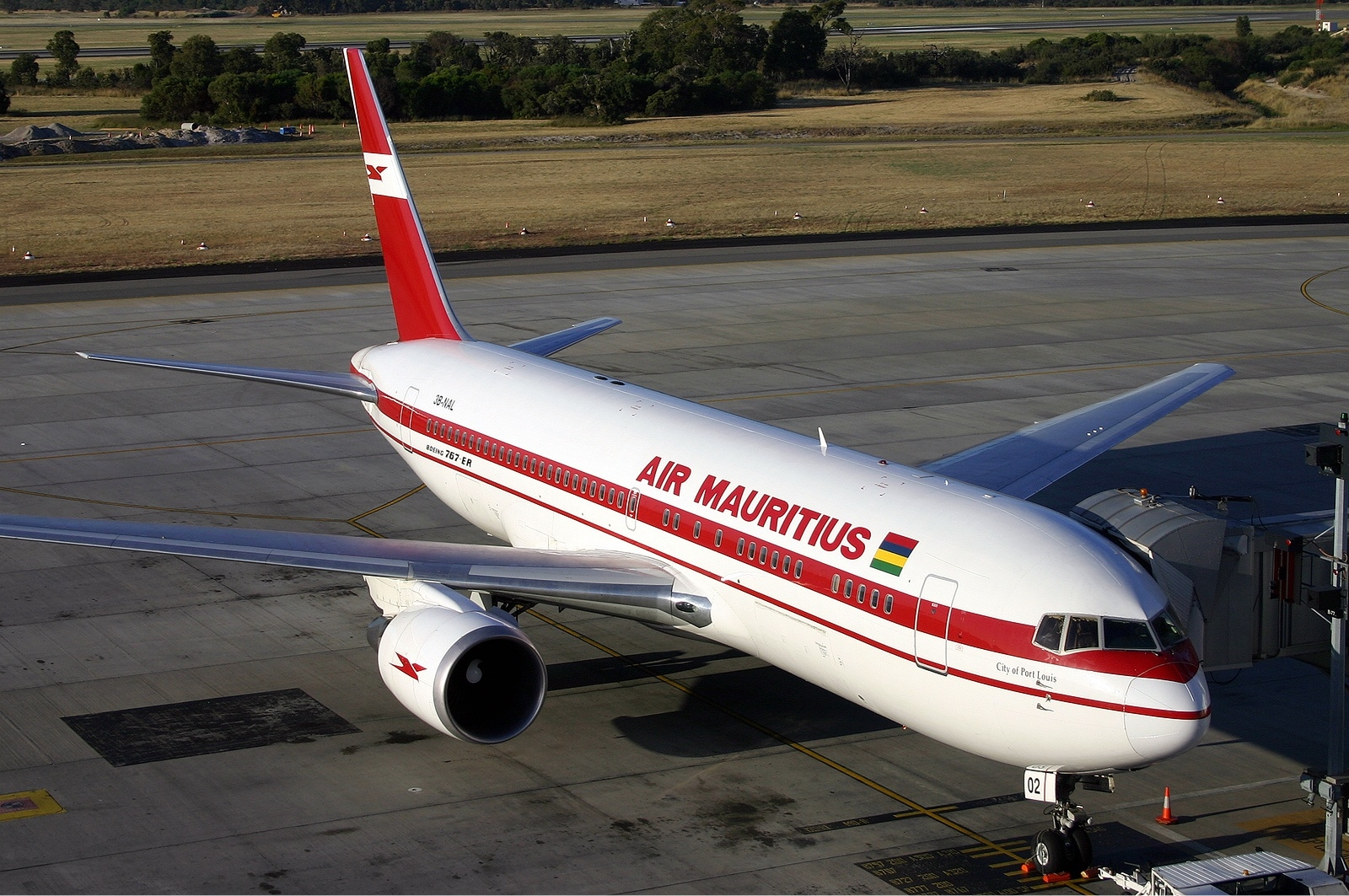 Air Mauritius, clouée au sol par la fermeture des frontières jusqu'au 31 août prochain.