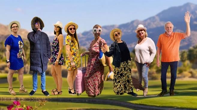 eConvenctour CEDIV : les congressistes sont arrivés à Palm Springs