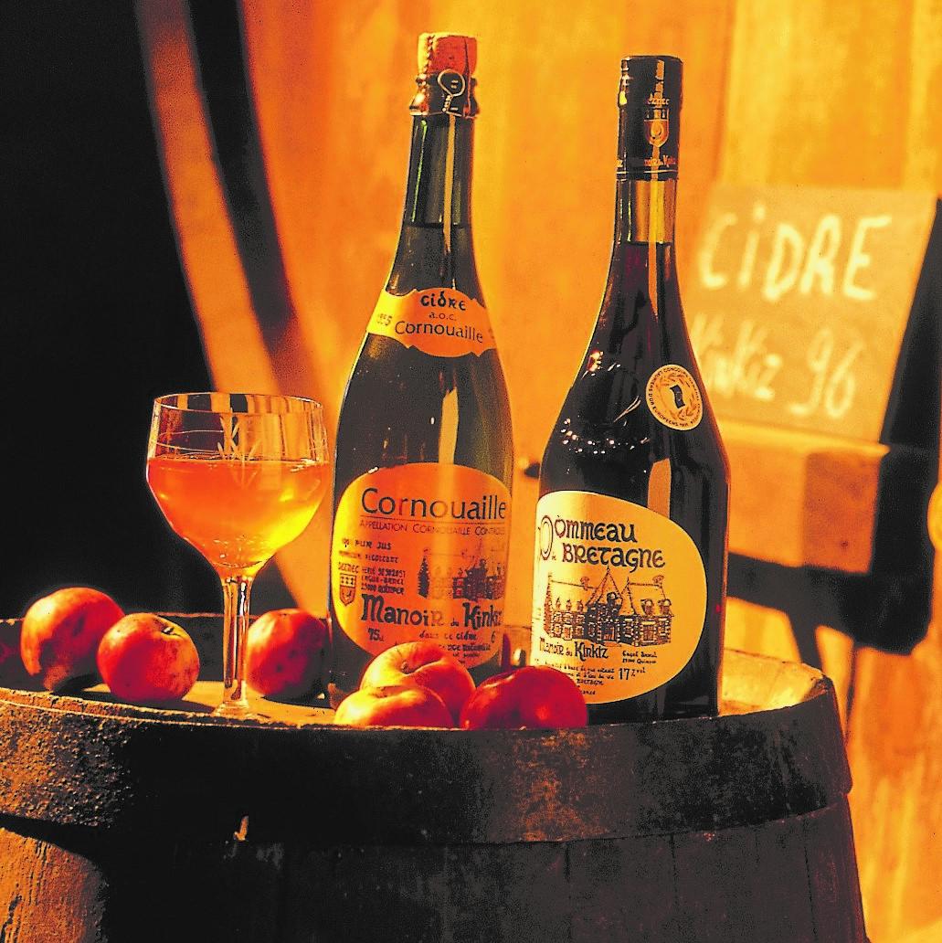 Les boissons de terroir par excellentce. Jean-Patrick Gratien. CRT Bretagne.