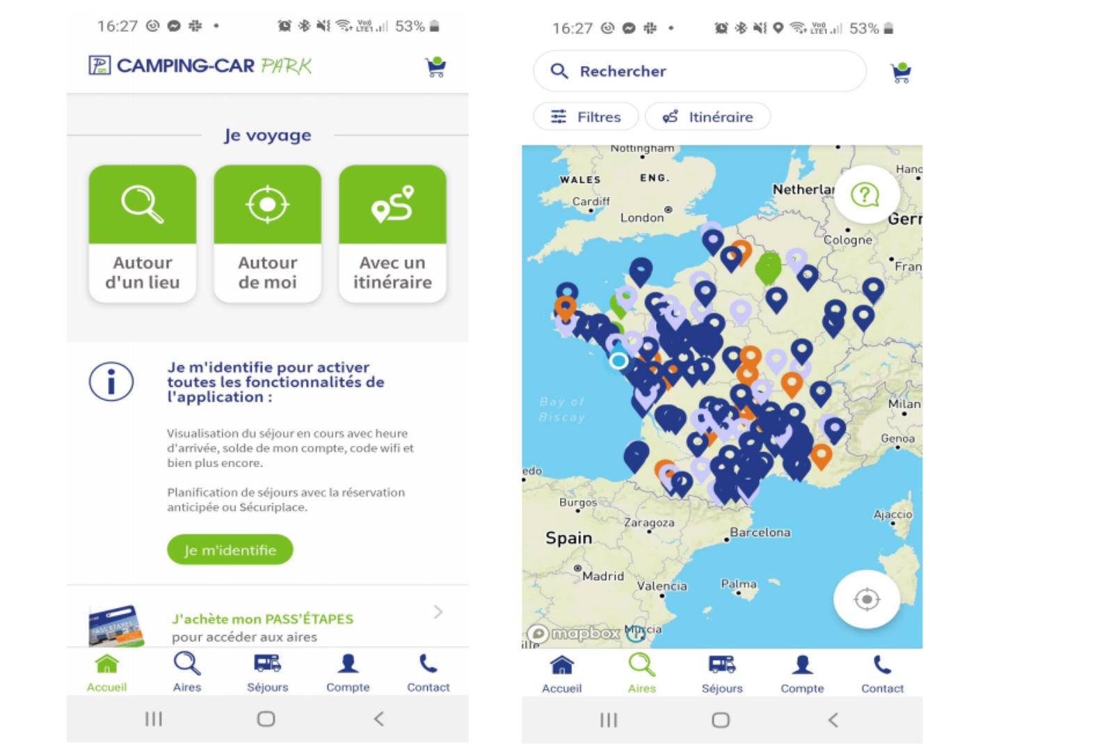 Trouver les 200+ aires de stationnement Camping-Car Park dans toute la France et accéder aux informations utiles /photo dr