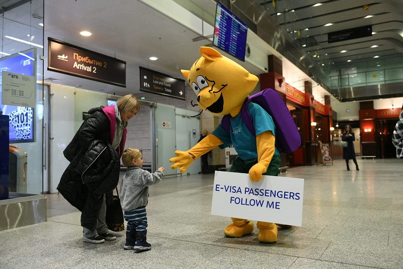 La simplification des formalités d'entrée, comme une évidence pour la Russie (photo: Pulkovo Airport)