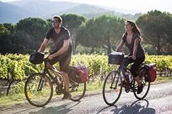 Vélo en Luberon - DR Seray.T