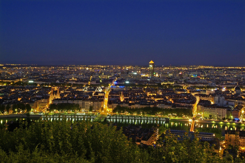 Panorama de Lyon vu de Fourvière - DR : P.Blanc/CRT Auvergne Rhône Alpes