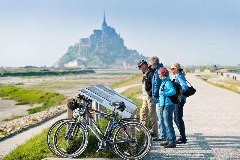 MaRandoFacile propose le transport de bagages, de personnes, la location de vélos, la mise à disposition d'un guide de randonnée pour les groupes - DR : Visit Ouest