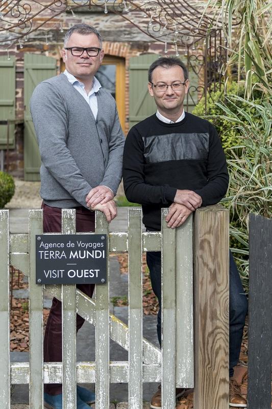 Loïc Mathieu et Mikaël Kerlidou, co-fondateurs de Visit Ouest - DR : Visit Ouest