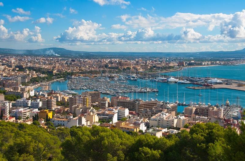 La ville Palma de Majorque dans les îles Baléares - Photo Depositphotos.com Lunter