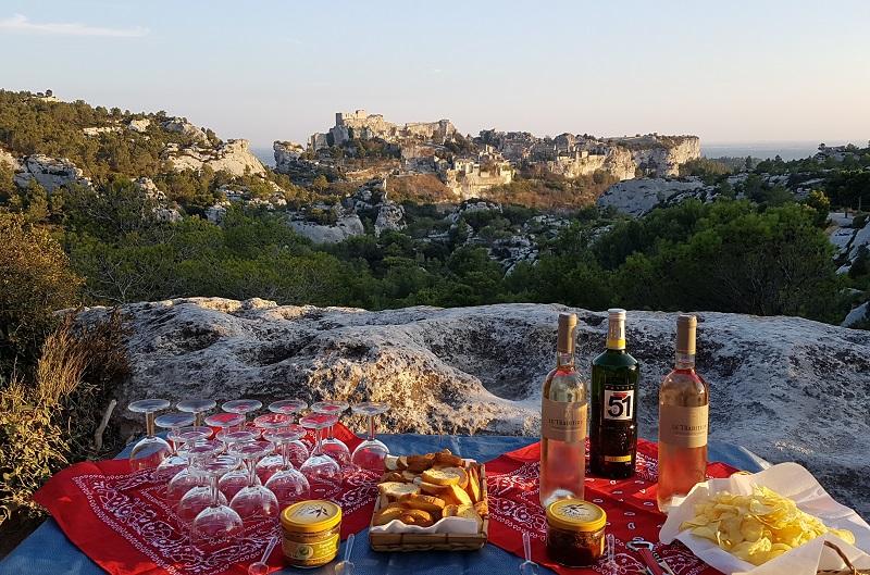 Apéritif team building et panoramique à Avignon ! - DR : Oleis Travel Events