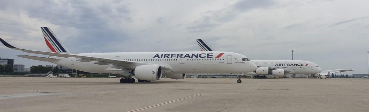 Entre le Concorde et l'A.350, l'A.380 vendredi 26 juin s'apprete a faire sa dernière boucle