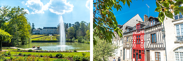 Parc Floral de la Source - DR Orléans Val de Loire Tourisme / Façades à pans de bois - DR ST1