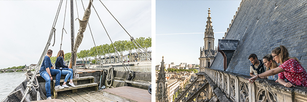 Balade en toue - DR ST1 / visite guidée des hauteurs de la cathédrale - DR ST1