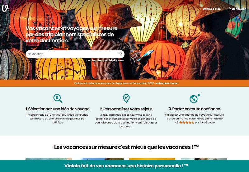 Pour gagner en puissance, en visibilité et attirer davantage de membres, Vialala se renouvelle - DR : Vialala.fr
