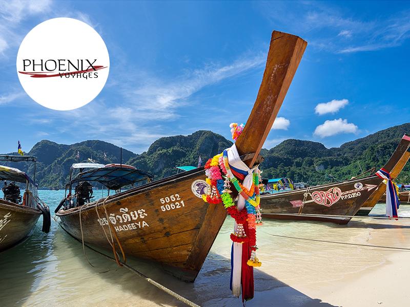 Phoenix Voyages, Réceptif Thaïlande