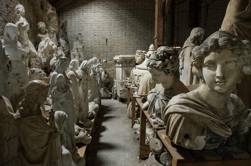Déambulez entre les 1 000 modèles qui composent le fonds et découvrez l'histoire de la fonderie d'art racontée par des amateurs passionnés - DR : Mathieu Mouillet