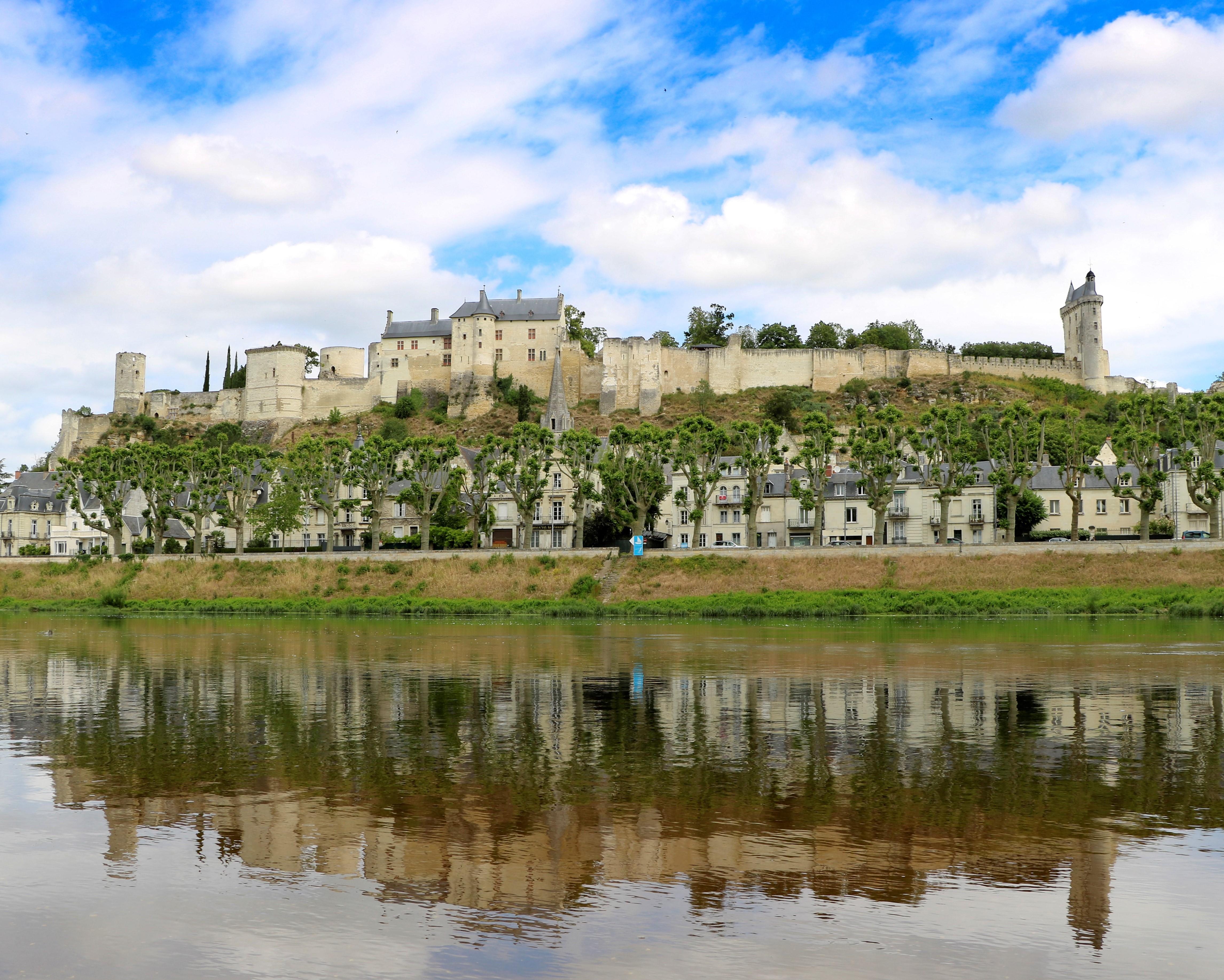 La cité médiévale de Chinon et sa forteresse royale - DR : Moriceau Basile, CRT Centre-Val de Loire
