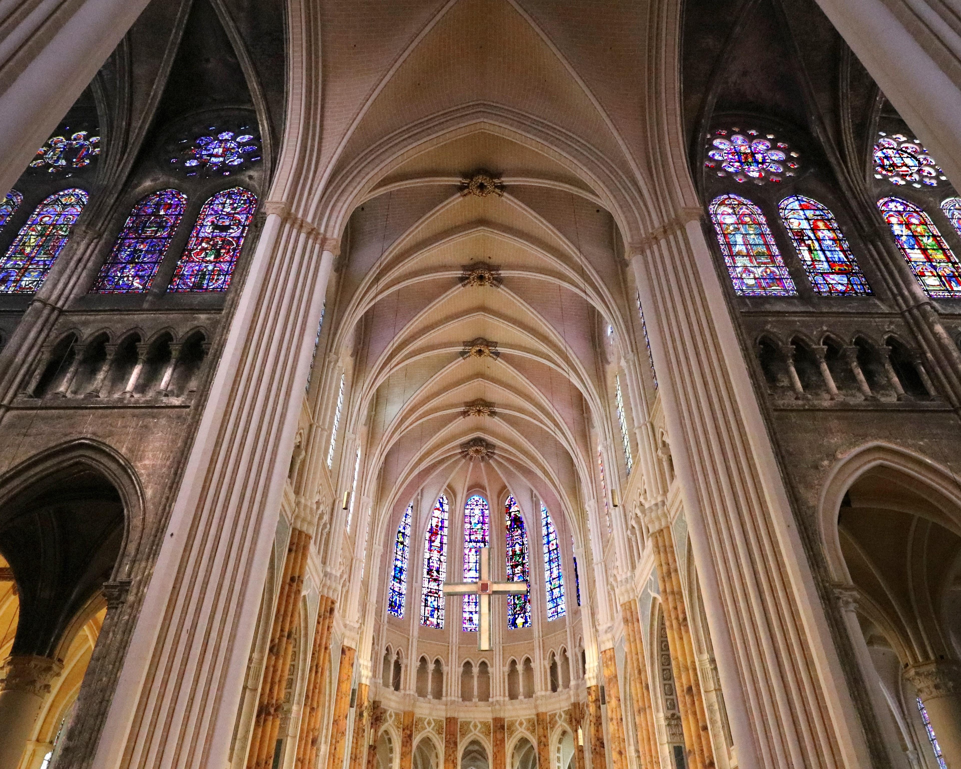 La cathédrale de Chartres détientle plus vaste ensemble de vitraux médiévaux du monde - DR : Moriceau Basile, CRT Centre-Val de Loire