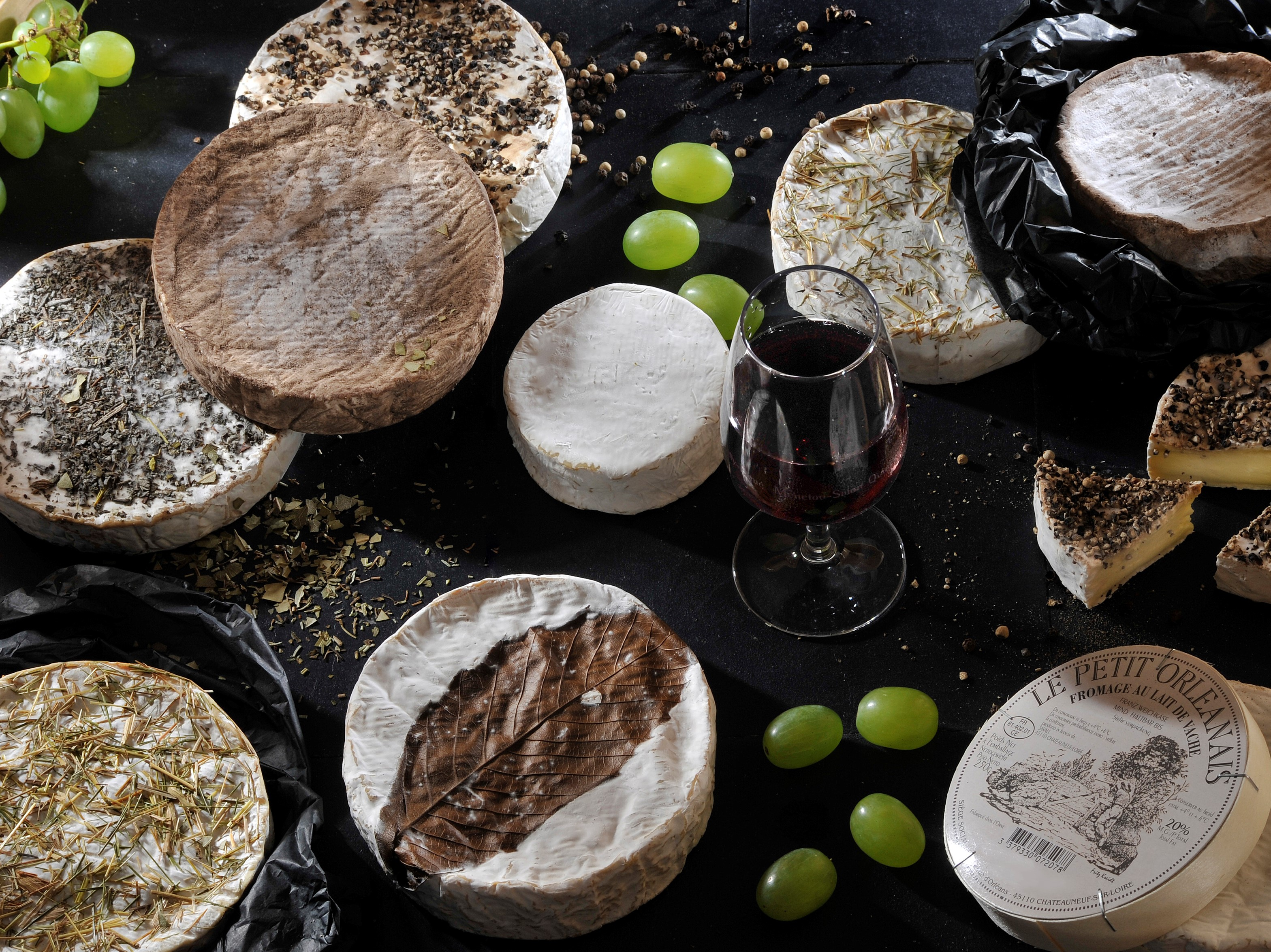 Plateau de fromages de vache de la région Centre-Val de Loire - DR : Martrou Thierry, CRT Centre-Val de Loire