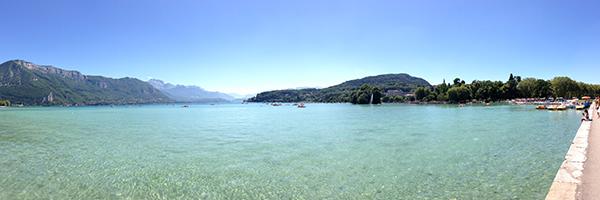 DR Annecy International / Le lac d'Annecy