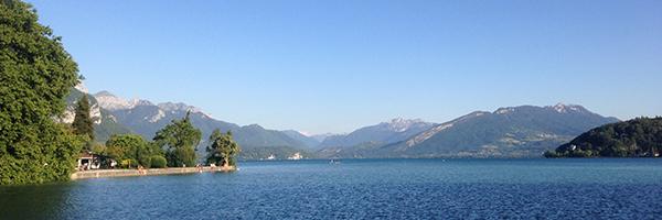 DR Annecy International / Vue sur le lac d'Annecy