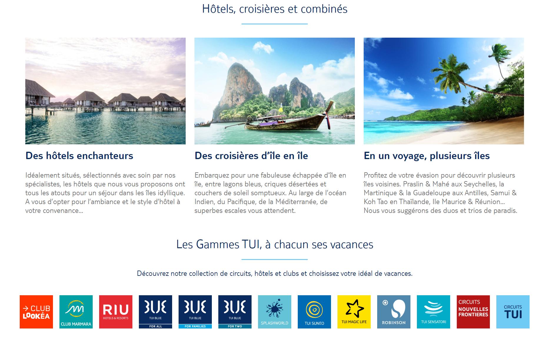 PSE de TUI France :  repreneurs potentiels pour Passion des Iles et les agences intégrées