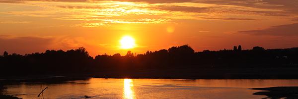 DR France Intense / Coucher de soleil sur La Loire - Amboise