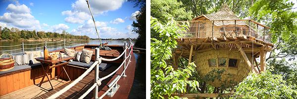 DR La Batelière sur Loire / Tour Cabanée et Cabane dans les arbres