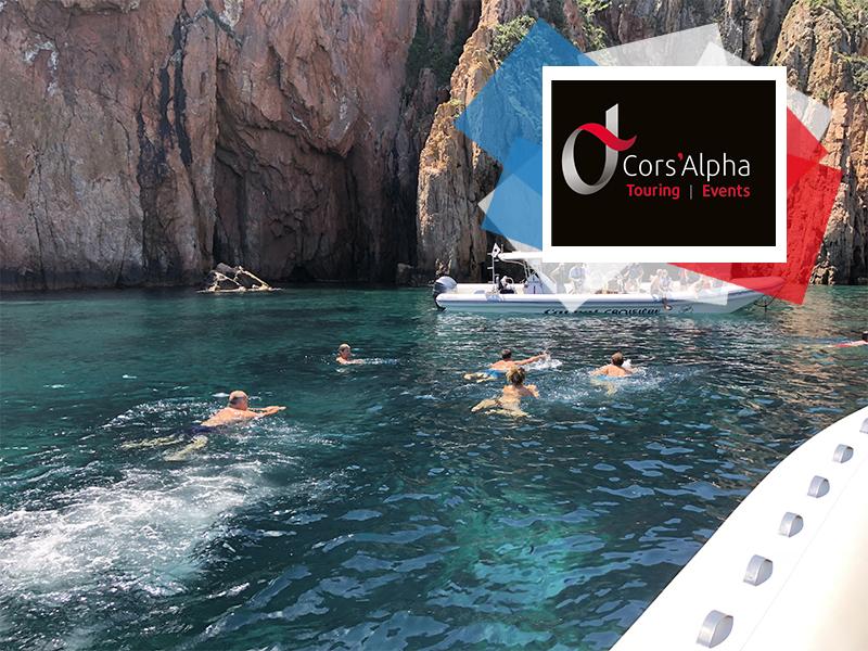 Journée Mer dans la réserve de Scandola / Copyright 2020 Cors'Alpha Touring