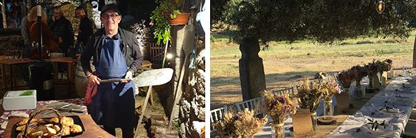 ©CorsicaEvents - Tour de Turgià / ©CorsicaEvents - Dîner champêtre à Filitosa