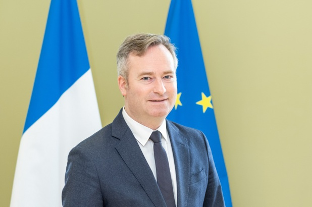 Le Premier ministre Jean Castex vient de renouveler sa confiance à Jean-Baptiste Lemoyne - Crédit Photo Diplomatie.gouv
