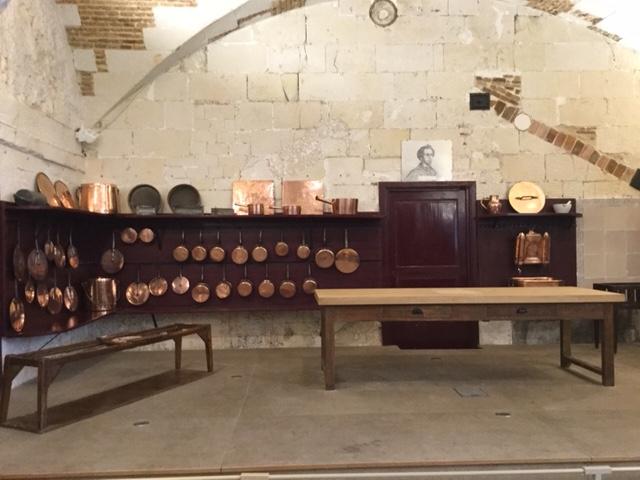 Les cuisines du château de Valençay - DR : J.-P.C.