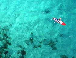 Photo libre de droits - Paddle aux Iles Lavezzi