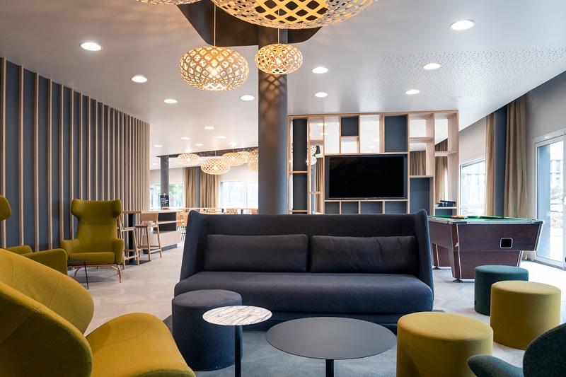 Seul ou en tribu, en vacances ou pour affaires, l'aparthotel Adagio de Vannes mise sur une ambiance chaleureuse et conviviale - DR : Adagio