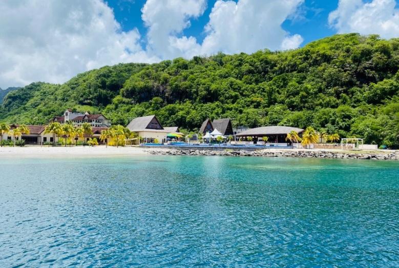 Site du futur Beaches Resorts à Saint-Vincent-et-les-Grenadines - DR : Sandals