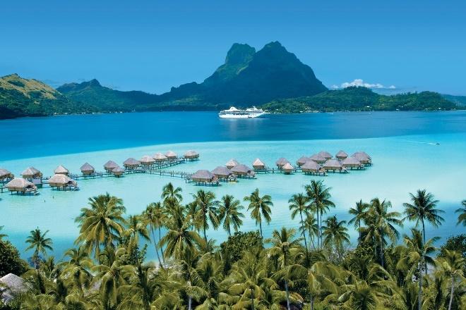 Le Paul Gauguin reprend ses croisières cet été avec 3 itinéraires en Polynésie française - DR : Ponant