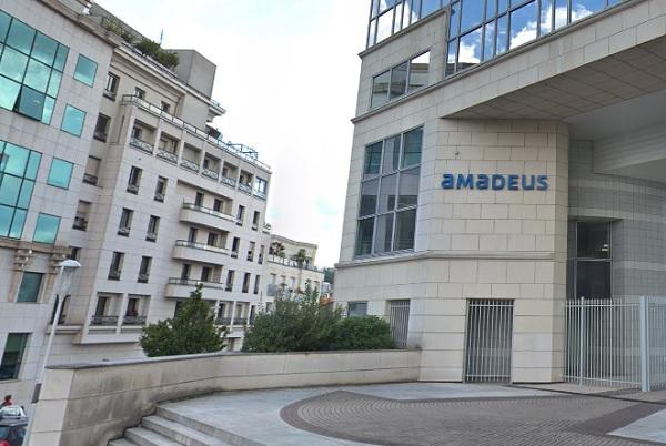 Amadeus a vu ses recettes se rétracter au premier semestre 2020 de 54,7% à 1,28 milliards d'euros - Crédit photo : Google Maps