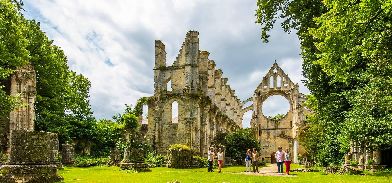 Abbaye de Longpont-DR Cambon/office de tourisme Retz-en-Valois