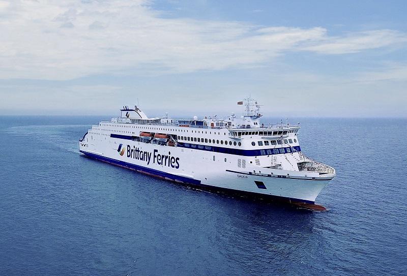 D'une longueur de 215 mètres, ce ferry-croisière sera le plus grand de la flotte - DR : Brittany Ferries