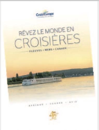 La nouvelle brochure CroisiEurope - DR
