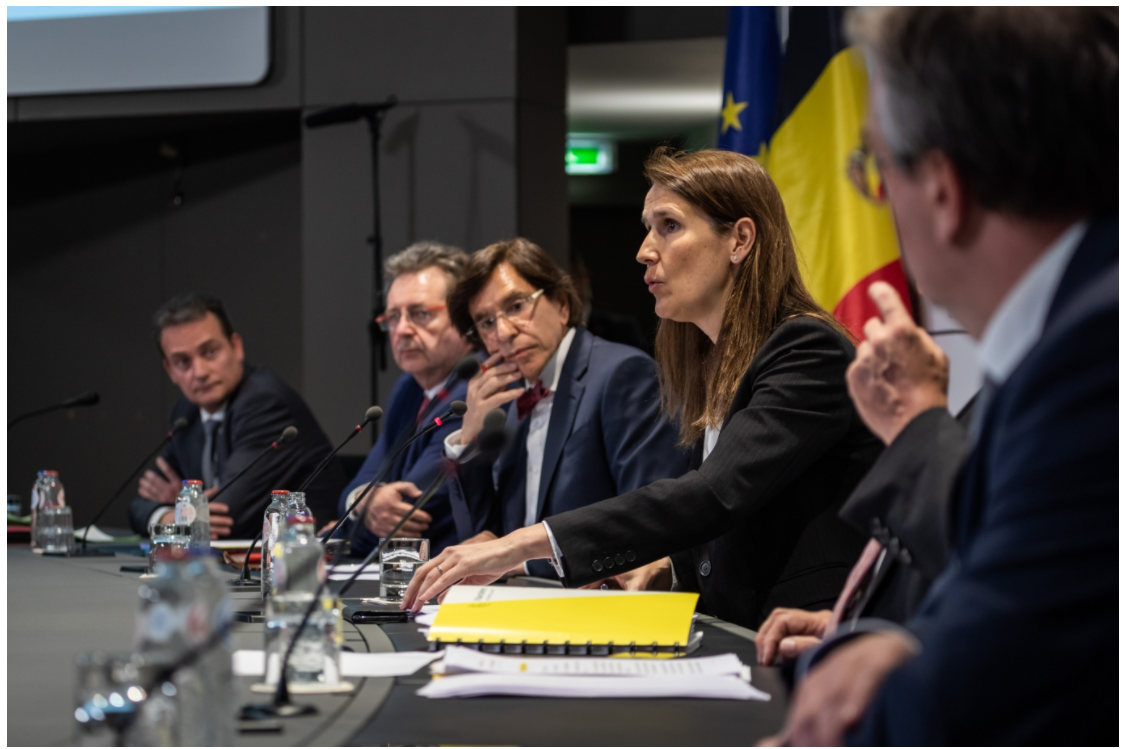 Sophie Wilmès  Première ministre de Belgique, chargée de Beliris et des Institutions culturelles fédérales /crédit DR
