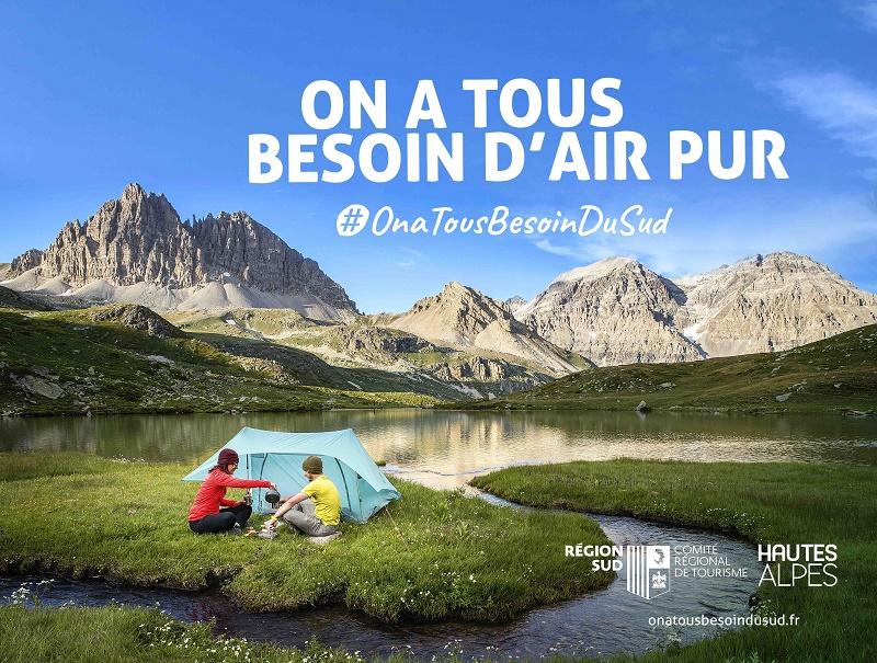 L'été 2020 est celui de tous les records pour le tourisme dans les Hautes-Alpes, avec 11,59 millions de nuitées et 366 M€ de chiffre d'affaires - DR