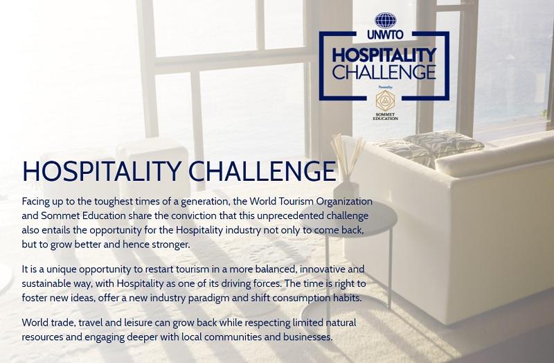 Les concours de l'Organisation Mondiale du Tourisme (OMT) s'adressent aux start-up et aux hôteliers - DR