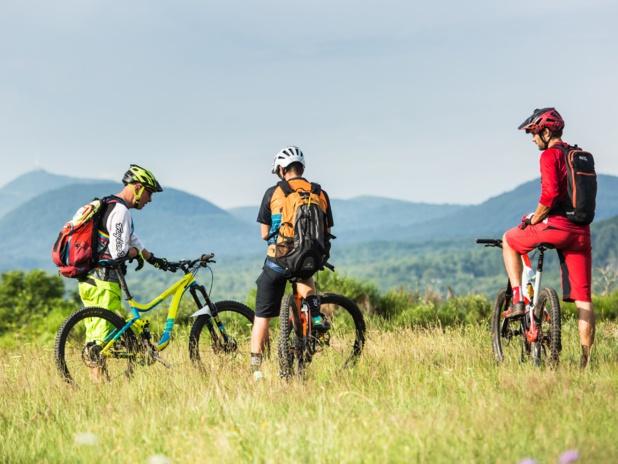 Sans surprise, les activités de plein-air ont été plébiscitées : randonnées pédestres et vélo, activités liées à l'eau... - DR : O.Octobre GTML - VTT