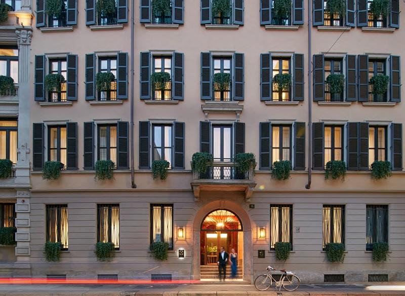 Le Mandarin Oriental Milan dispose de 70 chambres et 34 Suites, d'un restaurant gastronomique et d'un Spa de 900m² - DR : Mandarin Oriental