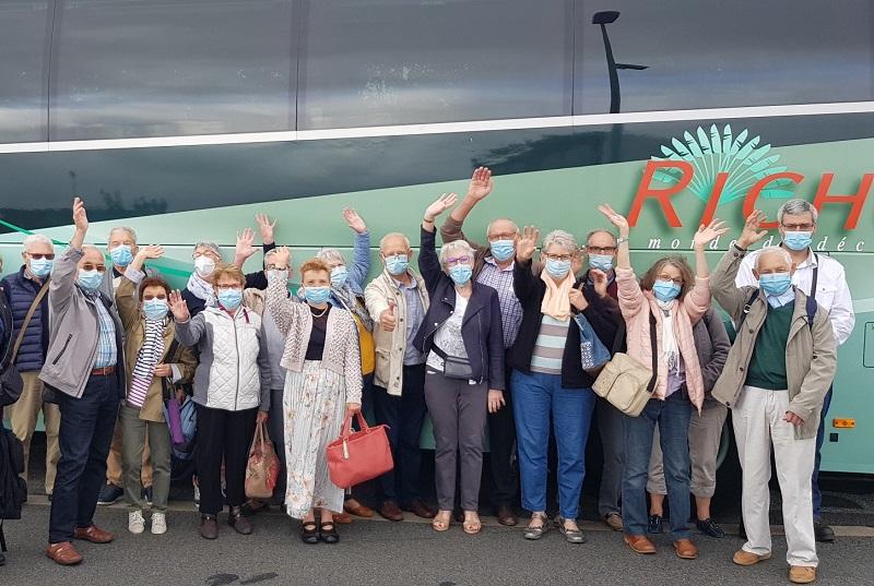 En juillet, un groupe est (enfin) reparti, direction la Suisse - DR : Page Facebook Richou Voyages