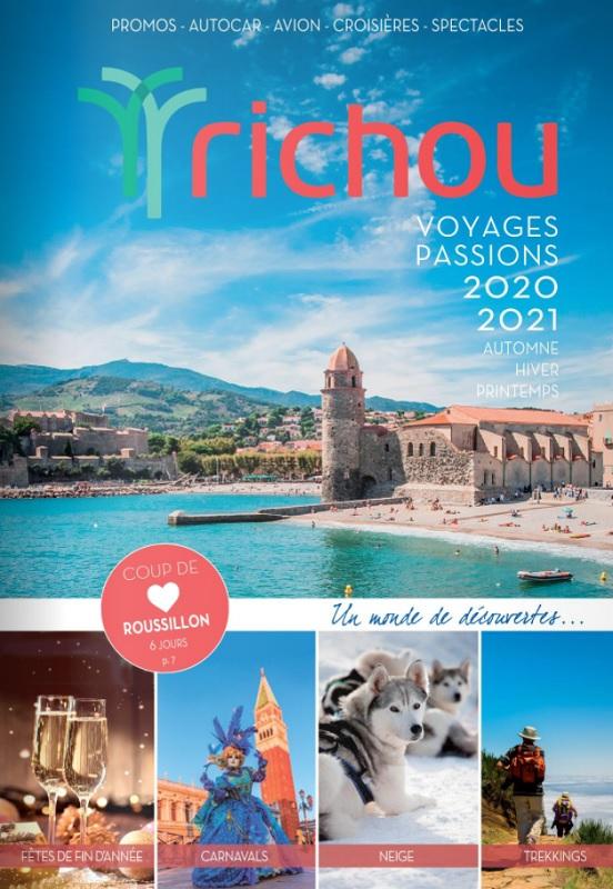 La brochure Voyages Passions, sortie fin juin, met en avant la France - DR : Richou Voyages